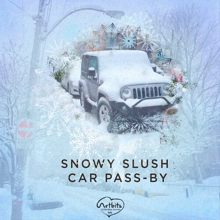 Snowy Slush Car Pass-by Cover Image
