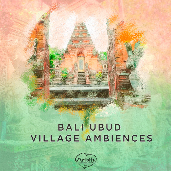 Bali Ubud Village Ambiences Cover Image