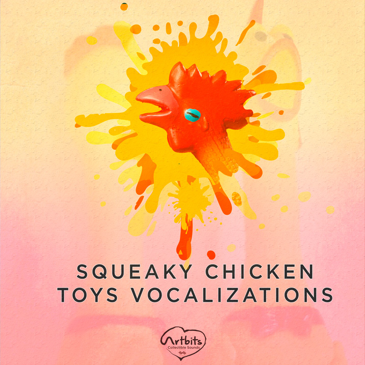Squeaky Chicken Toys Vocalizations Cover Image