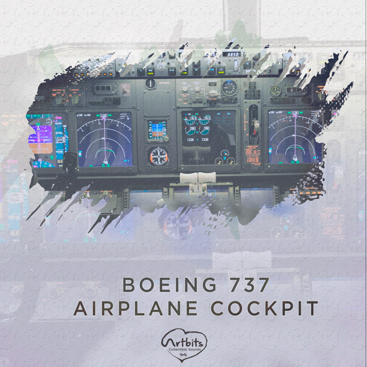 Boeing 737 Airplane Cockpit Cover Image
