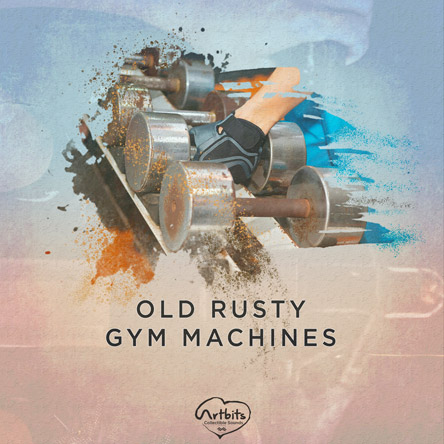 Artbits: Old Rusty Gym Machines