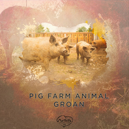 Artbits: Pig Farm Animal Groan