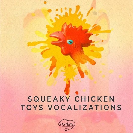 Artbits: Squeaky Chicken Toys Vocalizations
