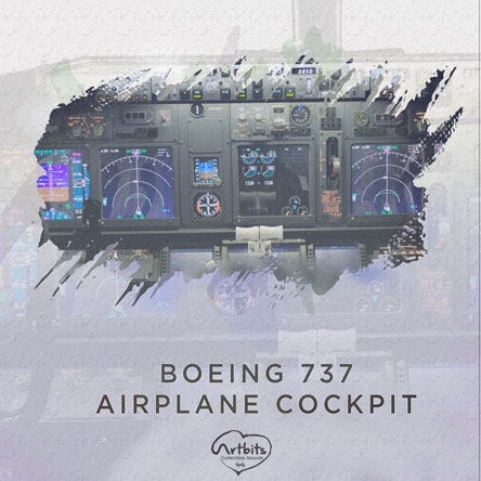 Artbits: Boeing 737 Airplane Cockpit