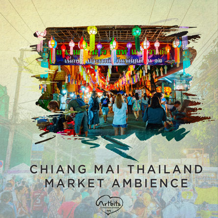 Artbits: Chiang Mai Thailand Market Ambience