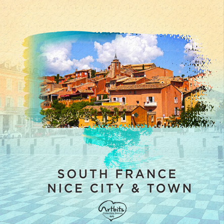 Artbits: South France Nice City & Town